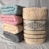Набор махровых полотенец 100*50 см - 2 шт.Толстые.Турция.