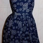 Последнее!!! Новое платье ХБ! на подкладке шикарное на р. 46-48 ( по бирке 2ХЛ)