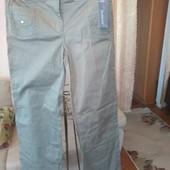 Коттоновые джинсы, размер l (48)