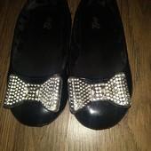 Туфельки для модницы размер 26-27