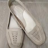 Мягенькие туфли. Натур.кожа. По стельке 23 см