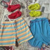 Шорты (2 шт) и носки (2 шт) на мальчика 2-3 г. См замеры!