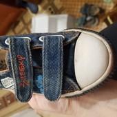 Кеди джинсові