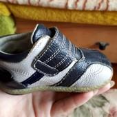 Стоп! Кожаные детские ботиночка Topolino на кроху. 20 р.
