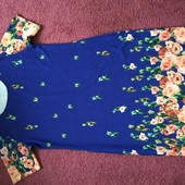 Платье. Мой пролёт. 62 размер.