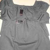Esmara Германия Летняя блуза со спущенными плечами размер  38