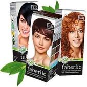Крем-краска для волос Faberlic тон махагон.артикул 8834.