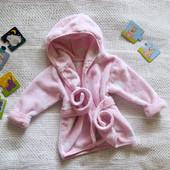 Крутой халатик для девочки 6-9 месяцев, не секонд