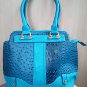 Красивая сумка 42*31*11 см состояние новой, б/у 1 раз