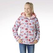 Гарненька курточка для дівчинки на легенькому халофайдері, Германия, pepperts.