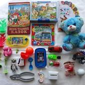 ❤ Лот игрушек для мальчика, с книгами ❤