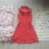 3 платья в одном лоте