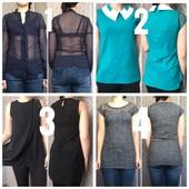Блузки, рубашки, кофти (одна на вибір)