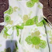 Нежное летнее платье  для вашей принцессы