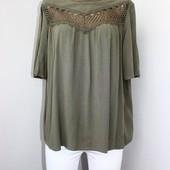 Качество!!! Стильная и натуральная блузочка от Marks&Spencer