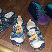Детские легкие и удобные мокасины-тапочки!!!В лоте 1 пара на выбор!!!