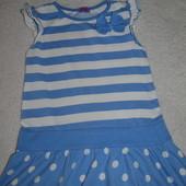 Платье на девочку на 3-4 года