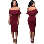Очаровательное платье с воланами!!!