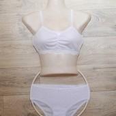 Комплект нижнего белья для девочек 11-14лет! 100% хлопок! р152-158