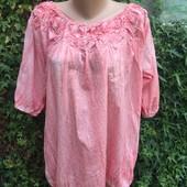 Нова блуза на пишні форми)дууже легесенька