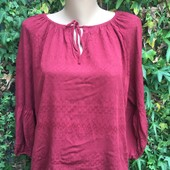 Нова бордова блуза  фіірмова)просто вааау