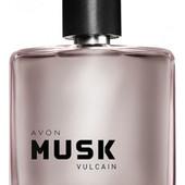 Мужская туалетная вода  Musk Vulcain от Avon