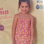 Платье на лето,100% хлопок Lupilu размер 86-92
