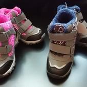 Детские ботиночки на липучках 30 размера