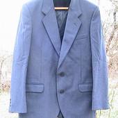 пиджак синий XL Швеция шерстяной