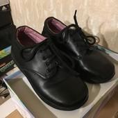 Туфли в школу для мальчика. Идеальное состояние. Кожа. 19,5 см.