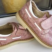Кожаные ортопедические ботинки Турция