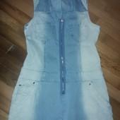 очеь классное джинсовое платье -смотрите фото и описание