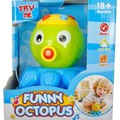 Іграшка веселий восьминіг-проектор читайте опис. Уп -5%