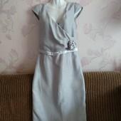 Симпатичное нарядное платье стального цвета✓В идеале✓Качество✓