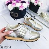 Стильные кроссовки цвет золото.НовинкаНовинка 2019.Дорогая модель 36 37 38 39  размеры