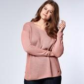 ☘ Мягусенький шерстяной свитер-пуловер Oversize от Tchibo(Германия), наш размеры: 46-52 (40/42 евро)