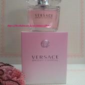 Им невозможно надышаться! Женственный и сексапильный Versace Bright Crystal! 90 ml! батч-код.