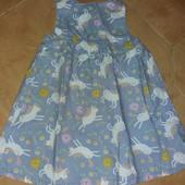 Фирма.Платье в идеальном состоянии на 1-2 года.
