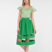 Отличная юбка зеленого цвета. Размер Л-ка.