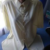 Женская блузка- рубашка, р.52-54