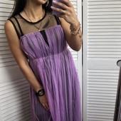 ***Много лотов! Собирайте!***Очень красивое платье сетка, размер хс-м, новое