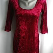 Платье из тонкого велюра, евро р-р S