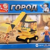 конструктор лего экскаватор