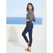 Шикарные летние легкие скинни джинсы с лиоцелл Esmara (Германия), высокая посадка, р. 36 евро