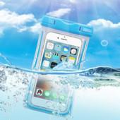 Водонепроницаемый чехол для смартфонов.Удобно в дощ или на озере,речке...