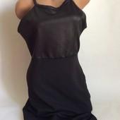 Стильное платье чёрного цвета