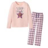 Пижамка для девочки,брюки фланель Pepperts размер 146-152.Упаковка!