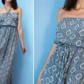 Легкий натуральный сарафан платье макси new look+ подарочек  духи nina ricci оригинал (остаток )