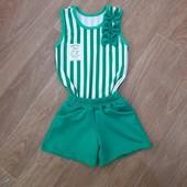 Красивые летние костюмчики для деток,Отправка со склада!Модель и размер на выбор!