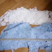 Обрезки кружевной ткани